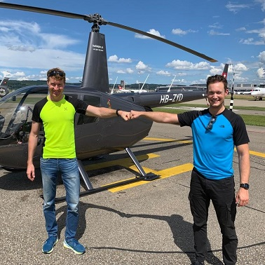 Helikopter Pilot Typ Rating Robinson R44 Zürich